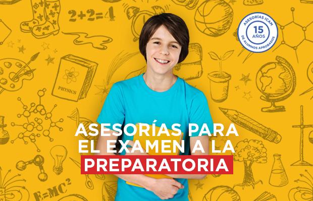 Asesorías para examen de preparatoria en Colegio ICAM