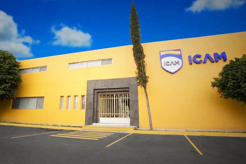 Fachada Colegio ICAM Escobedo